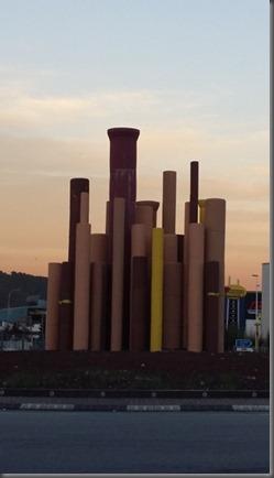 Rotonda San Andres Barca