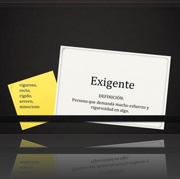 Exigente