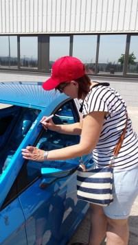 Rosa Lopez_Signatura a la carrosseria_SEAT