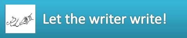 Let the writer write! +logo
