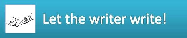 Let the writer write! +logo