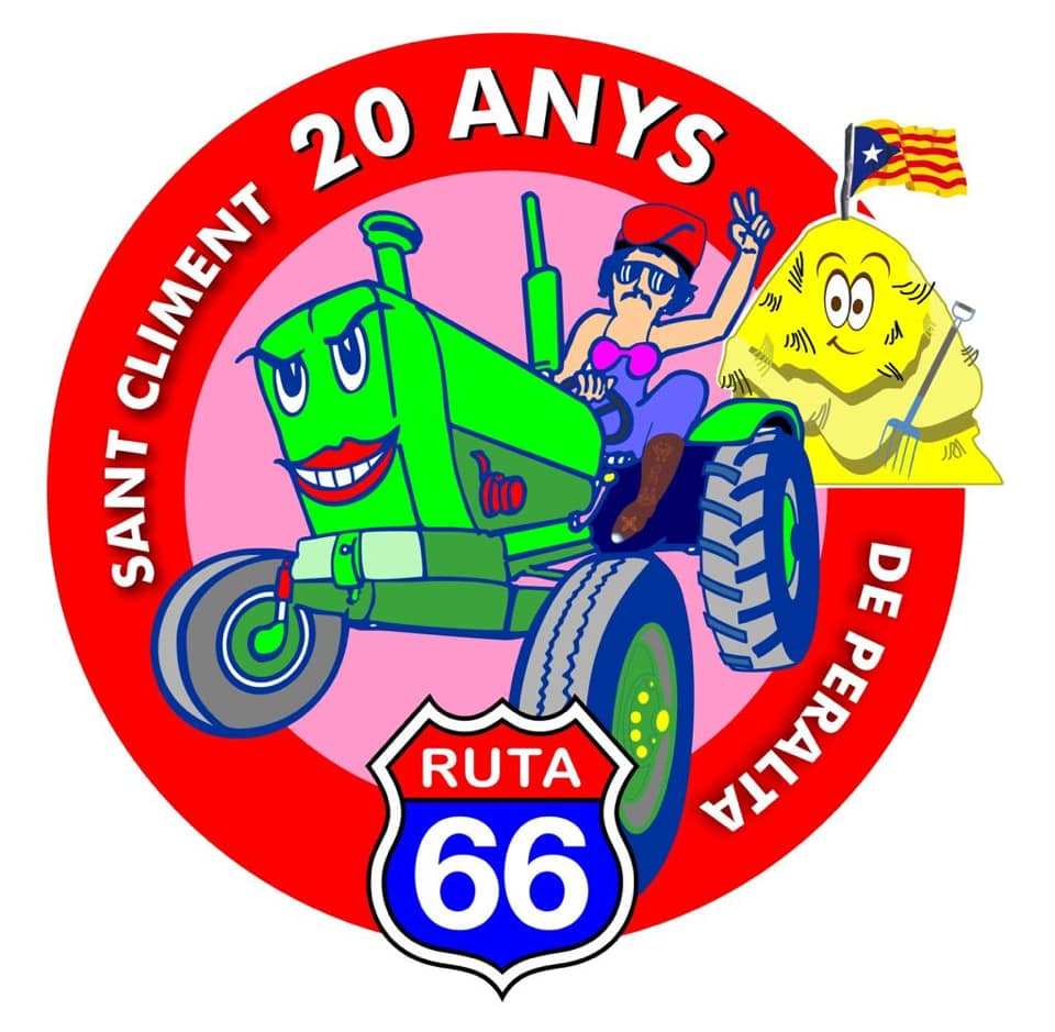 Carnaval Colla 66, 20 anys_ logo